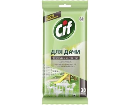 Салфетки влажные CIF для ДАЧИ универсал 30шт