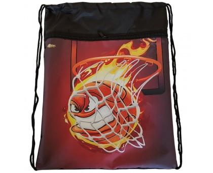 Мешок для обуви №1 SCHOOL Basketball 370х470мм карман