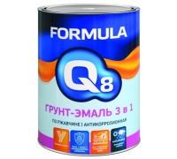 """Грунт-эмаль по ржавчине """"FORMULA Q8"""" зеленая 0,9кг"""