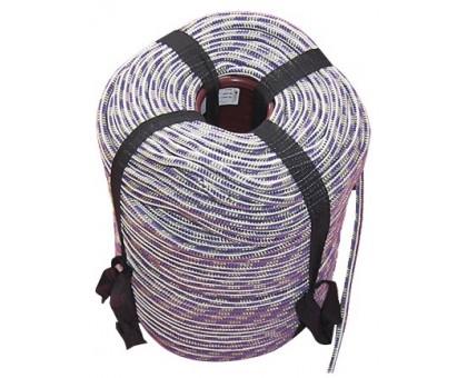 Шнур вязаный полипропиленовый с сердечником цветной 6,0мм (200м) 12ктекс, 95кгс
