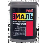 Эмаль акриловая глянцевая Palizh №604 красная 1,0кг