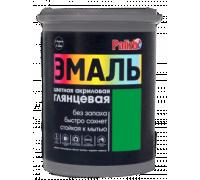 Эмаль акриловая глянцевая Palizh №606 зеленая 1,0кг
