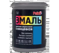Эмаль акриловая глянцевая Palizh №607 синяя 1,0кг