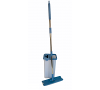 Набор для уборки Bossclean (ведро с отжимом, швабра) LDR1701 серо-голубая