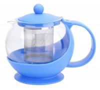 Чайник заварочный 750мл стекло+пластик А108