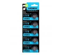 Батарейка VIDEX Lithium CR1620 BL-5