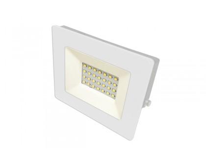Прожектор Ultraflash LFL-2001 С01 белый, LED 20Вт, 6500К, 230В