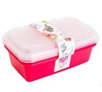 Набор контейнеров для заморозки 1л 3шт Zip сангрия ИК 17454000 Berossi