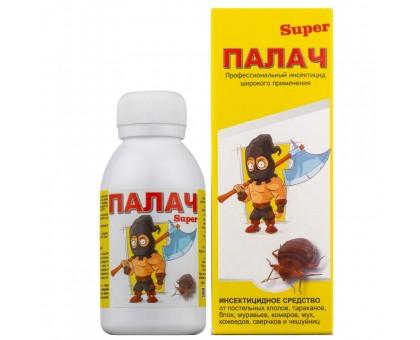 """Инсектицид ПАЛАЧ """"Super"""" 100мл (от клопов, тараканов, муравьев)"""