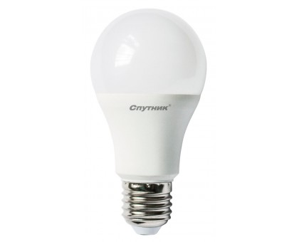 Лампа светодиодная LED A60 12W/4000K/E27, Спутник