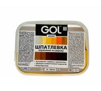 Шпатлевка акриловая по дереву GOL wood Мастер 0,15кг сосна Wd.250.01