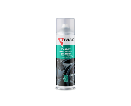 Пенный Полироль-очиститель пластика салона с матовым эффектом KERRY KR-905-10 335мл морская свежесть