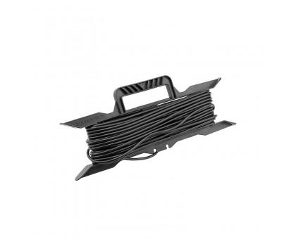 Удлинитель на рамке 50м (1 розетка) 2х0,75мм черный REXANT 11-5250