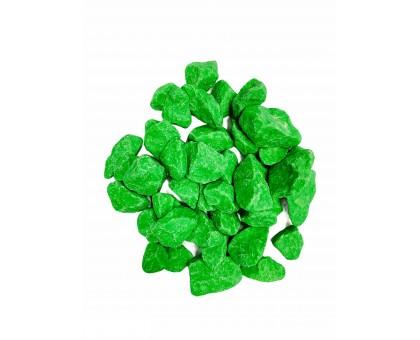 Щебень цветной ярко-зеленый 8кг