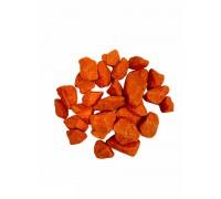 Щебень цветной оранжевый 8кг