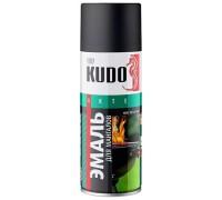 Эмаль термостойкая для мангалов KUDO черная 520мл