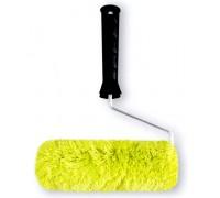 """Валик Bohrer """"Зеленый"""" 100мм d=42мм (ворс 18мм) (полиакрил зеленый) с пластиковой ручкой"""