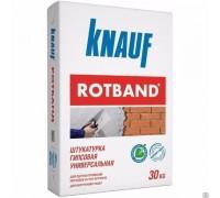 "Штукатурка гипсовая Ротбанд ""KNAUF"" 30кг серый"