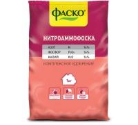 """Удобрение НИТРОАММОФОСКА 1,0кг """"Фаско"""""""