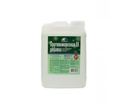 Антиморозная добавка для раствора и бетона 10л (хлорид кальция)