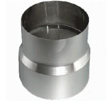Переходник 110х120мм черная сталь