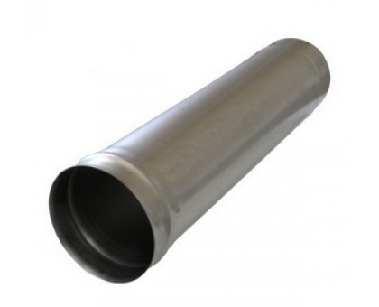 Труба дымоходная d-110мм (0,5) черная сталь 1,0м