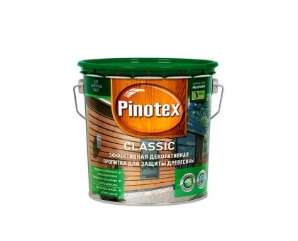 Пропитка PINOTEX Classic 2,7л ореховое дерево