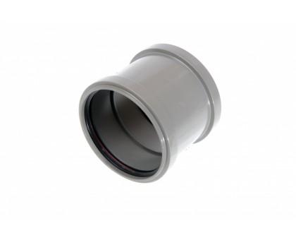 Муфта ПВХ 110 К с кольцом