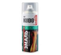 """Краска аэрозоль """"KUDO"""" термостойкая черная 520мл KU-5002"""