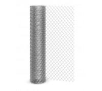 Сетка-рабица черная сталь 15х15мм /1,0м х 10м/