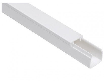 Кабель-канал 15x10мм белый / 2,0м
