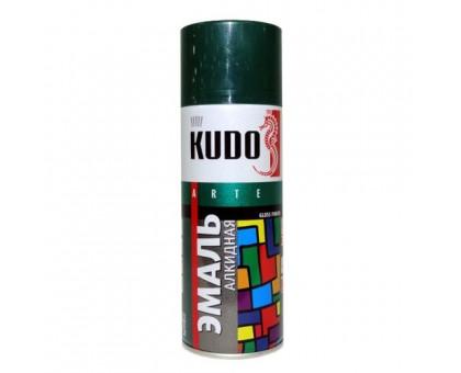 "Краска аэрозоль ""KUDO"" зеленая темная 520мл KU-1007"