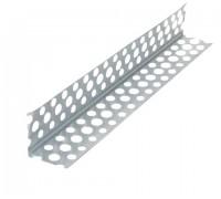 Угол перфорированный алюминиевый 25х25мм 3,0м