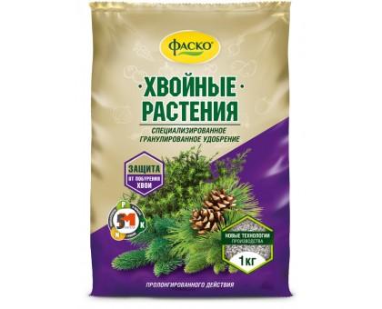 """Удобрение для ХВОЙНЫХ """"Фаско 5М"""" гранулированное 1,0кг"""