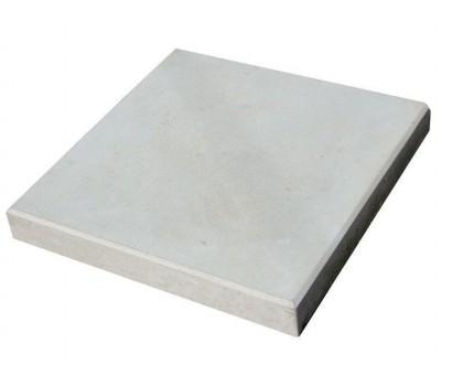 Плитка тротуарная 300х300х35мм гладкая серая