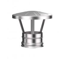 Зонт дымоходный d-150мм (0,5) нержавеющая сталь