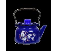 Чайник эмалированный 2,3 л с декором К2486
