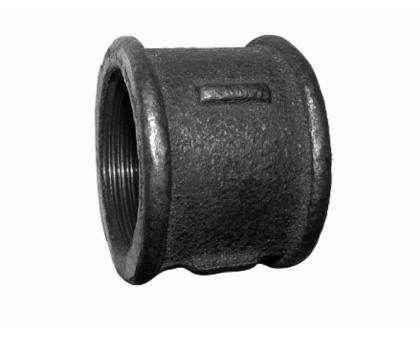 Муфта чугунная 15 черная