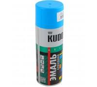 """Краска аэрозоль """"KUDO"""" голубая  520мл KU-1010"""