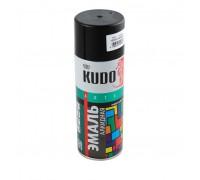 """Краска аэрозоль """"KUDO"""" черная глянцевая 520мл KU-1002"""