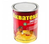 АКВАТЕКС-ЭКСТРА  0,8л Каштан