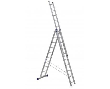 Лестница трехсекционная 3х12 ступеней 7,90м LWI