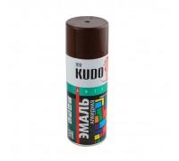 "Краска аэрозоль ""KUDO"" коричневая 520мл KU-1012"
