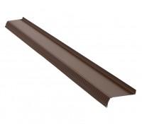 Отлив 2м*0,10м коричневый
