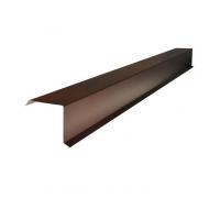 Ветровая планка коричневая