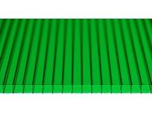 """Поликарбонат """"GRADAPLAST"""" зеленый 8мм 2100 x 6000мм"""