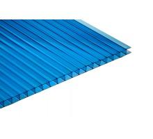 """Поликарбонат """"GRADAPLAST"""" синий 8мм 2100 x 6000мм"""