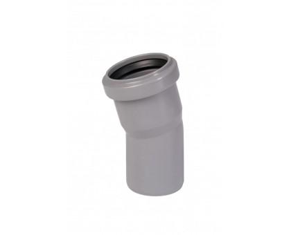 Отвод ПВХ 50х15 с кольцом
