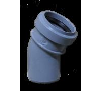 Отвод ПВХ 50х30 с кольцом