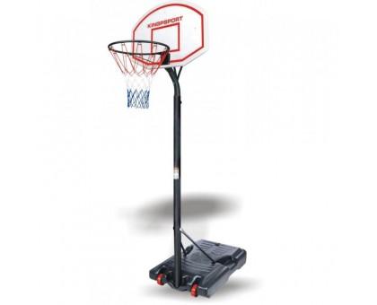 Баскетбольный щит (66см) со стойкой Н=180-230см купить